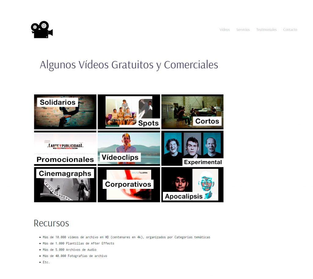 Web videosexcelentes.com