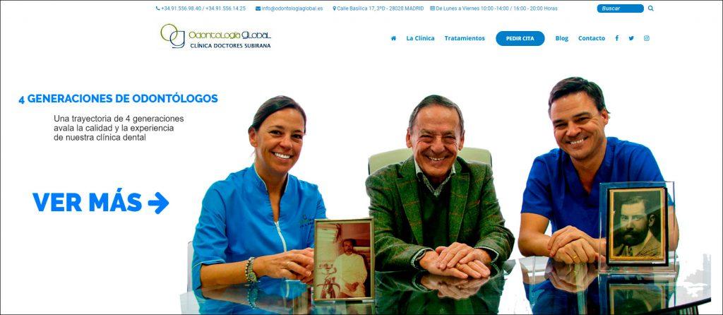 Odontología Global, Clínica de los Doctores Subirana