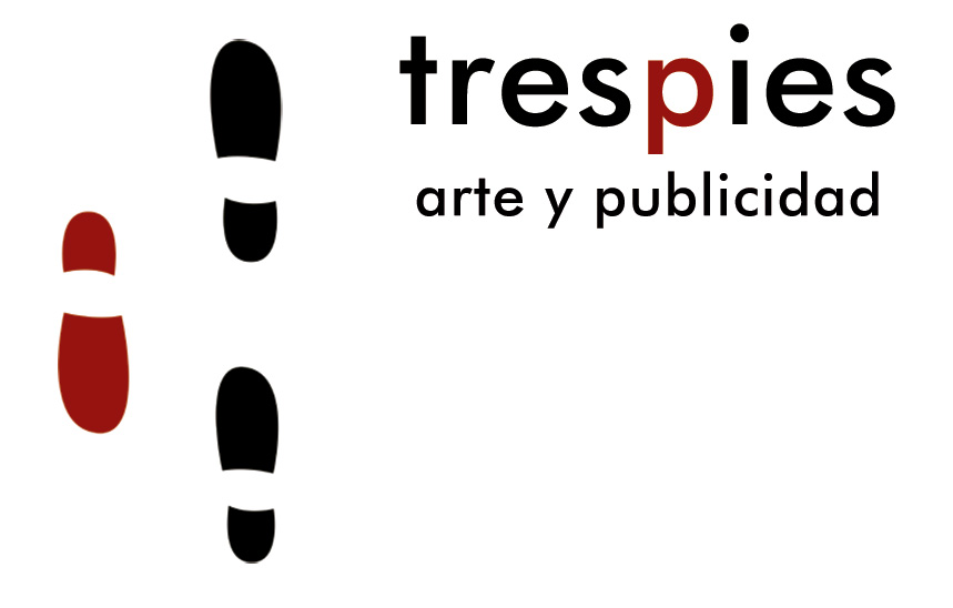 Logotipo trespies arte y publicidad